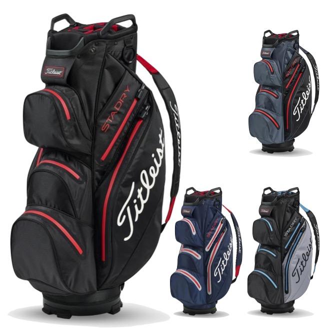 0e0b6a3f244 Titleist StaDry Cart Golf Bag + FREE Balls