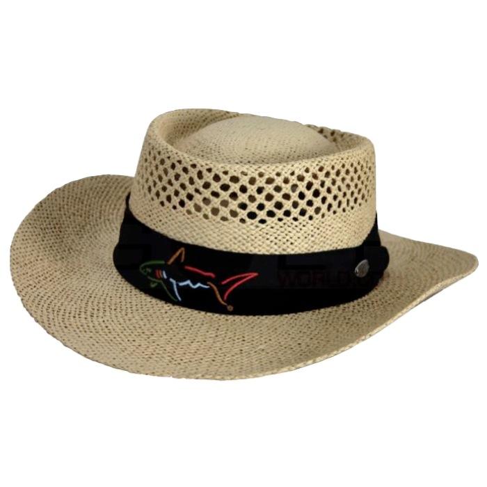Greg Norman Classic Straw Golf Hat - AC001
