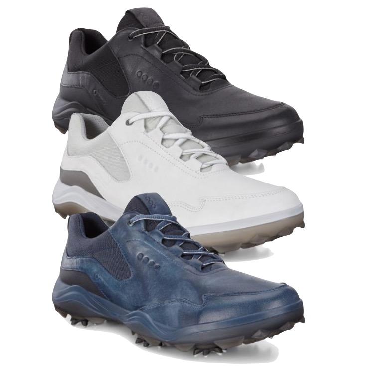 f57ca31c794302 Ecco Mens Golf Strike Golf Shoes - FREE SOCKS