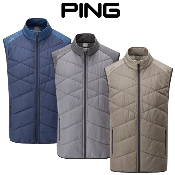 Ping Mens Breaker Thermal Golf Vest