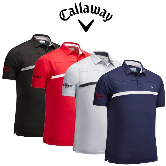 pretty nice 1b0b3 64843 Callaway Mens Premium Tour Players Golf Polo Shirt
