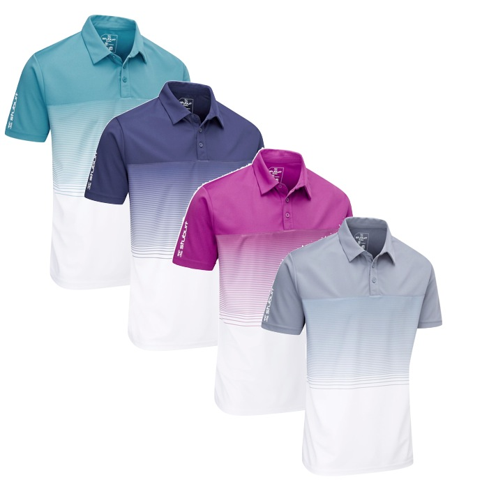 3cf2acd6 Stuburt Mens Evolve Dalton Golf Polo Shirt