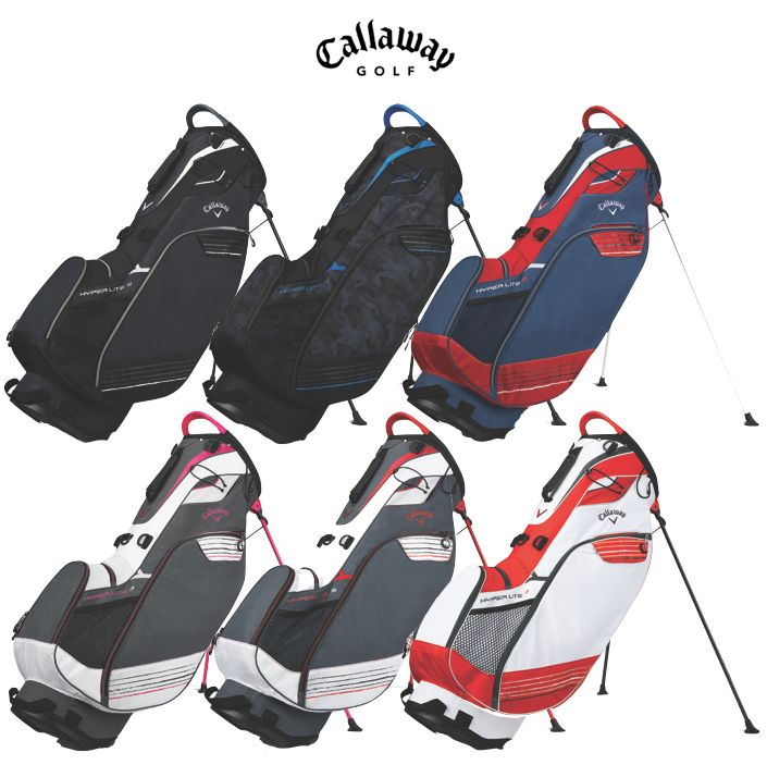 Callaway Hyperlite 3 Golf Stand Bag 2018 Free Towel