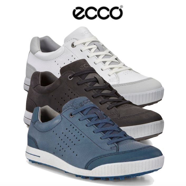 best service lowest discount big sale Ecco Mens Street Retro Golf Shoes - FREE SOCKS
