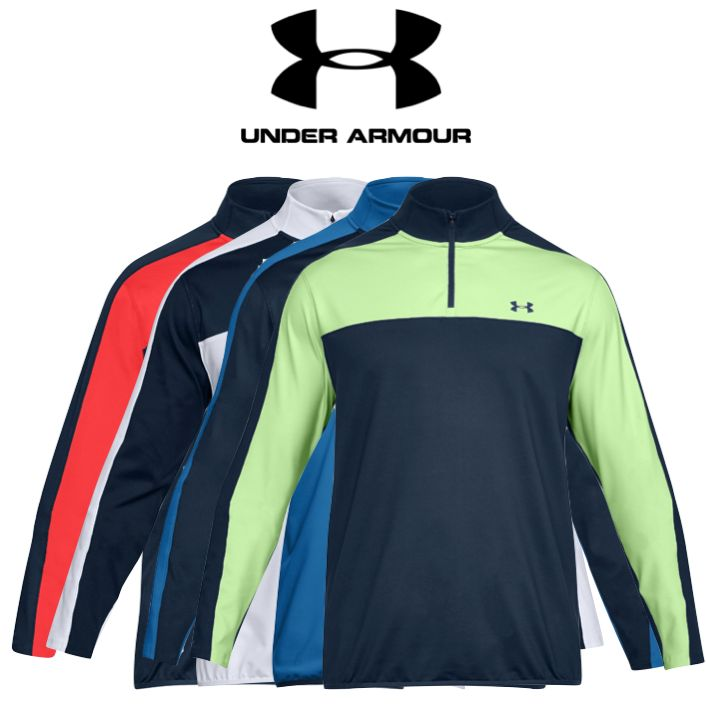 f333949e89e652 Under Armour Mens EU Midlayer Golf 1 4 Zip Top - Special Offer