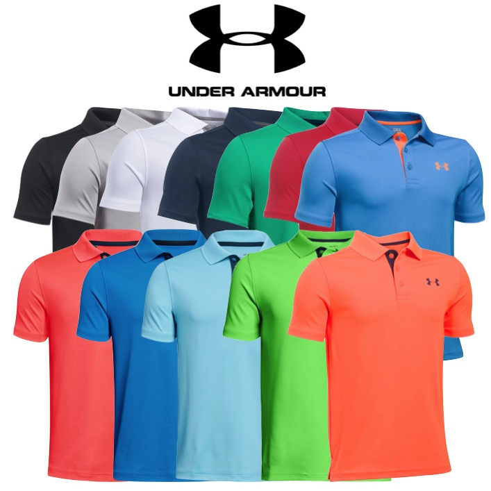 boys under armour polo sale