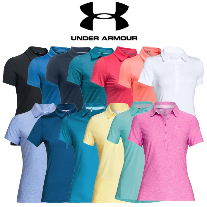 441a568f Under Armour Womens Zinger Short Sleeve Golf Polo - Special Offer