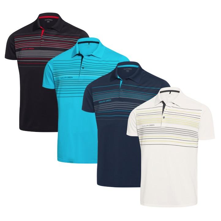 0008cd23f Galvin Green Mateo Ventil8 Plus Short Sleeve Golf Shirt