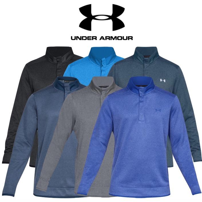 sale usa online performance sportswear world-wide free shipping Under Armour Mens Storm SweaterFleece Heather Snap Golf Mock