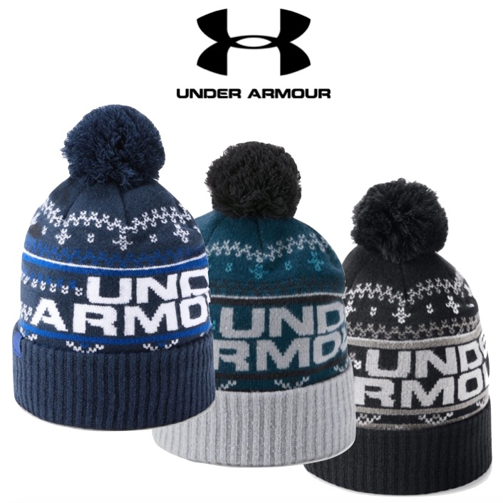61a316777e Under Armour Mens Retro Pom Pom 3.0 Golf Beanie - Special Offer