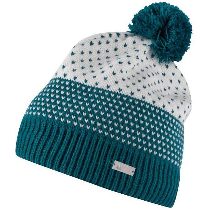 adidas Fashion Lined Womens Pom Pom Beanie Hat - New 0341afb2985
