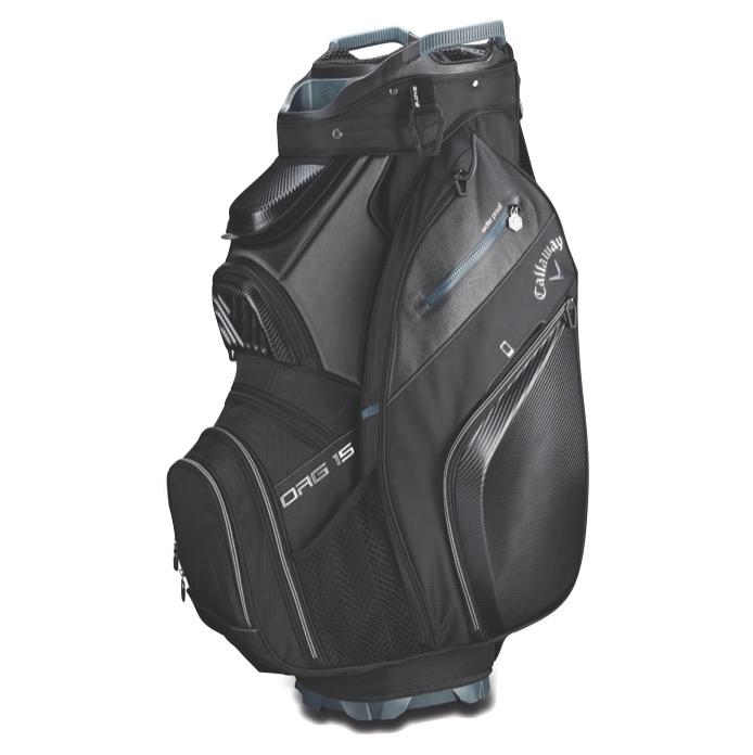 Callaway 2019 ORG 15 Cart Golf Bag + FREE Towel. Black d653ebb259cb5