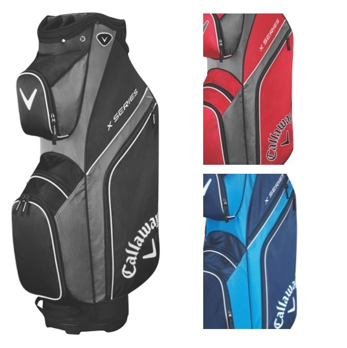 Callaway X Series Cart Golf Bag 2019 Free Towel