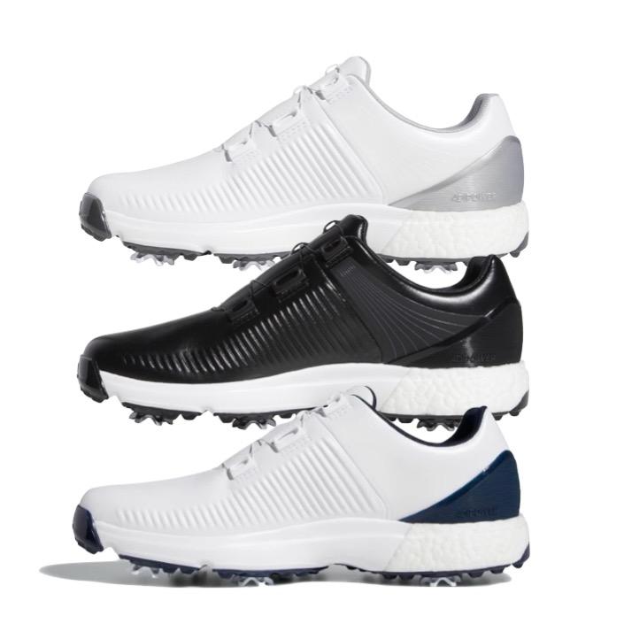 timeless design a5452 0d1ea ... Mens Golf Shoes - FREE Socks. adidas adipower 4orged Boa