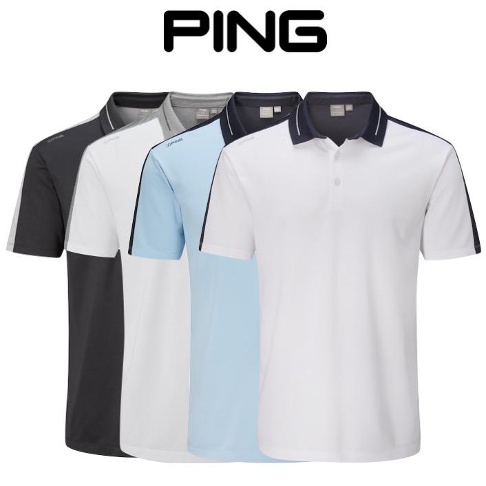 fcd10540 Ping Mens Douglas Golf Polo Shirt