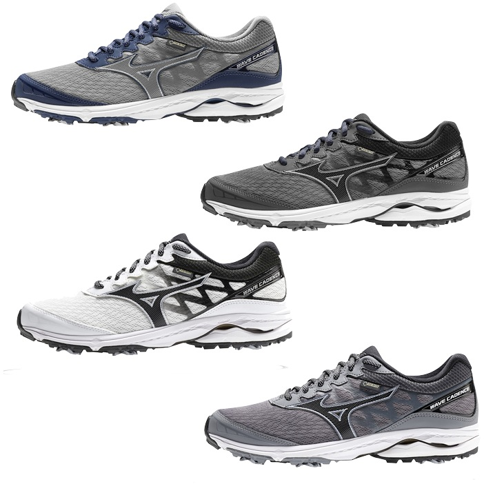 9eeb042a01e8 Mizuno Mens Wave Cadence GTX Boa Golf Shoes