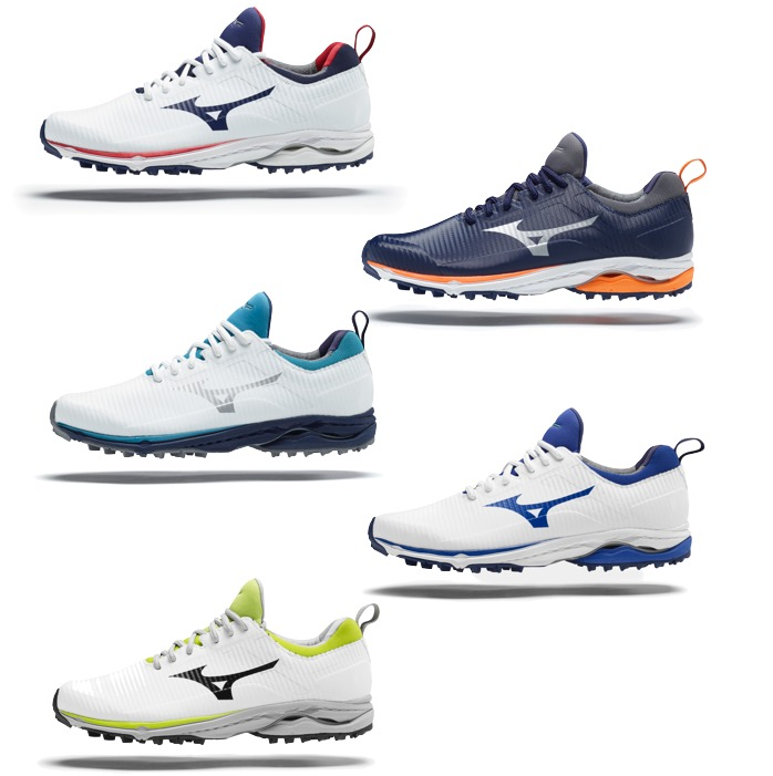 Mizuno Mens Wave Cadence Spikeless Golf Shoes Sale