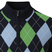 FootJoy Mens Wool Blend 1/2 Zip Lined Argyle Golf Pullover