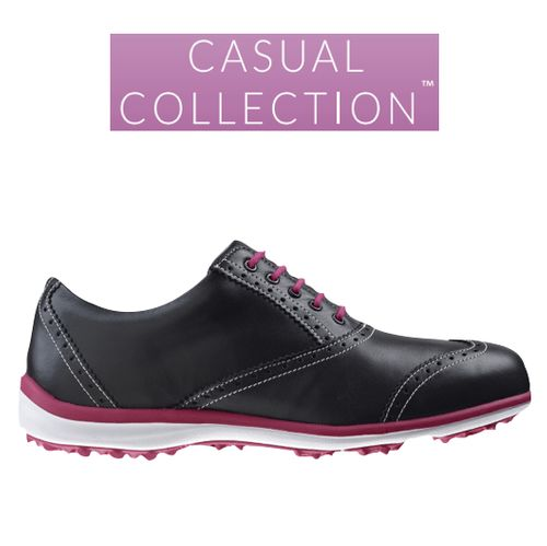 Image result for casual collection footjoy 97707 Black/Fushia - 97707