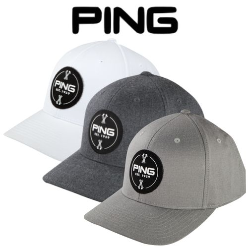 Ping Patch Structured Golf Cap - Special Offer Only £13.95 f744756760c2