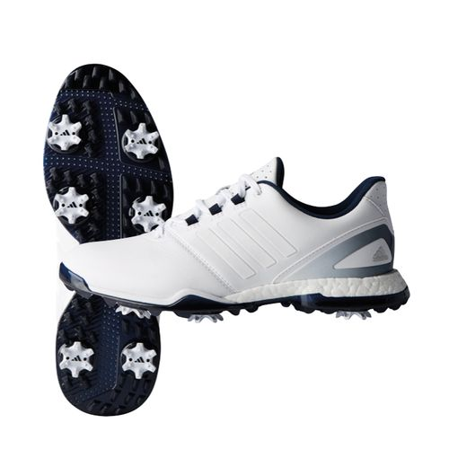 hot sales 2d836 95619 adidas adiPower Boost 3 Womens Golf Shoe. Adipower Boost 3 Womens · enlarge  · White White Matte Silver White White Collegiate Navy ...