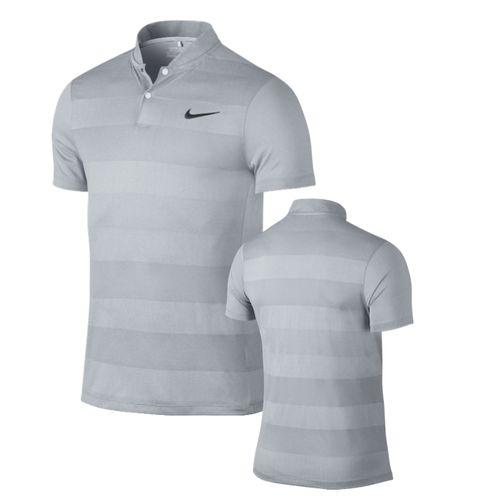 ed46f80e8 MM Fly Swing Knit Stripe Golf Polo. enlarge · Black/Reflective Silver Wolf  Grey/Reflective Black ...