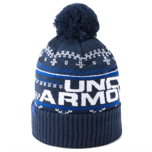 5ba674c9b71 Under Armour Mens Retro Pom Pom 3.0 Golf Beanie - Special Offer