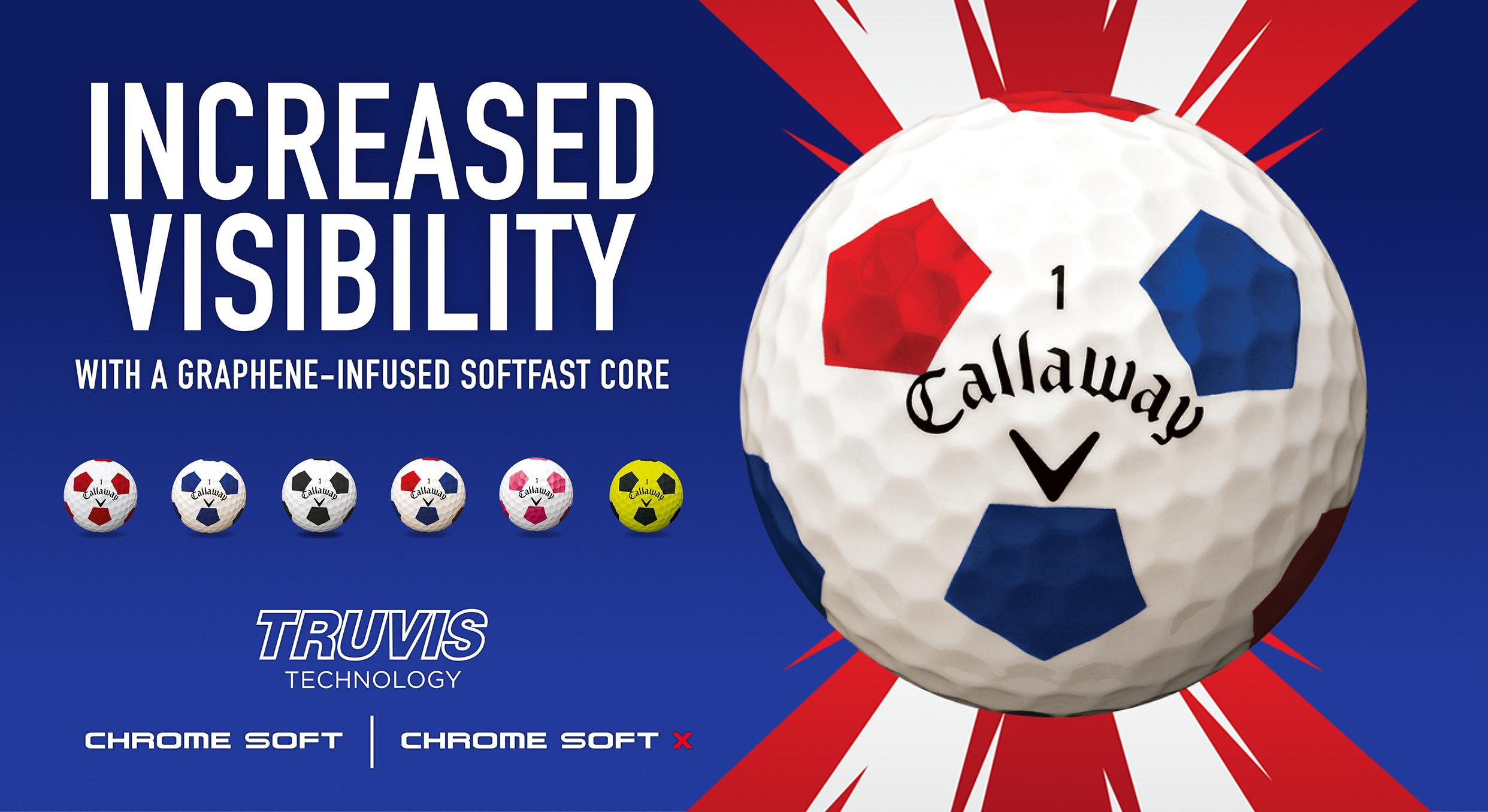 Callaway Truvis Golf Balls