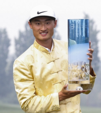 Li Haotong The Volvo China Open Winner.