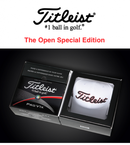 Special Edition The Open Titleist ProV1X