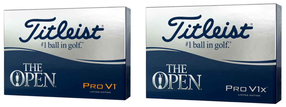 The Open Pro V Golf Balls