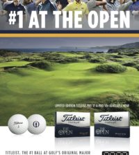 Titleist The Open Pro V1 Limited Edition Golf Balls