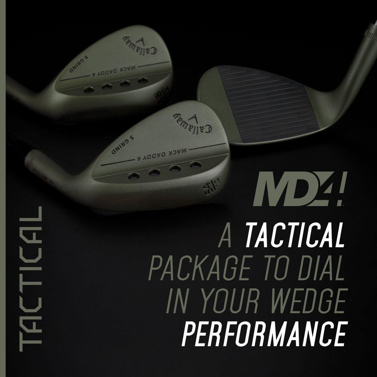 Callaway Release Limited Edition MD4 Tactical Wedge