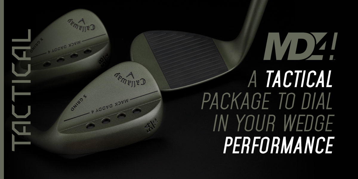 Callaway Limited Edition MD4 Tactical Wedge Review