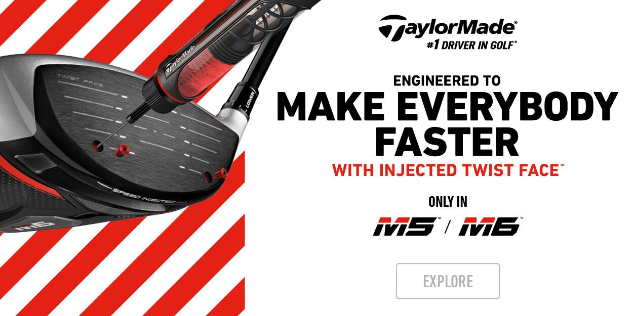 New TaylorMade M5 and M6